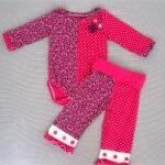 Baby girl outfit-onesie-hot..