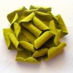 Olive green hair clip-girls..